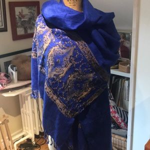 Hand Beaded Afghani Wrap